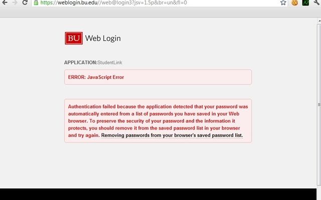 BU Weblogin Nag Remover
