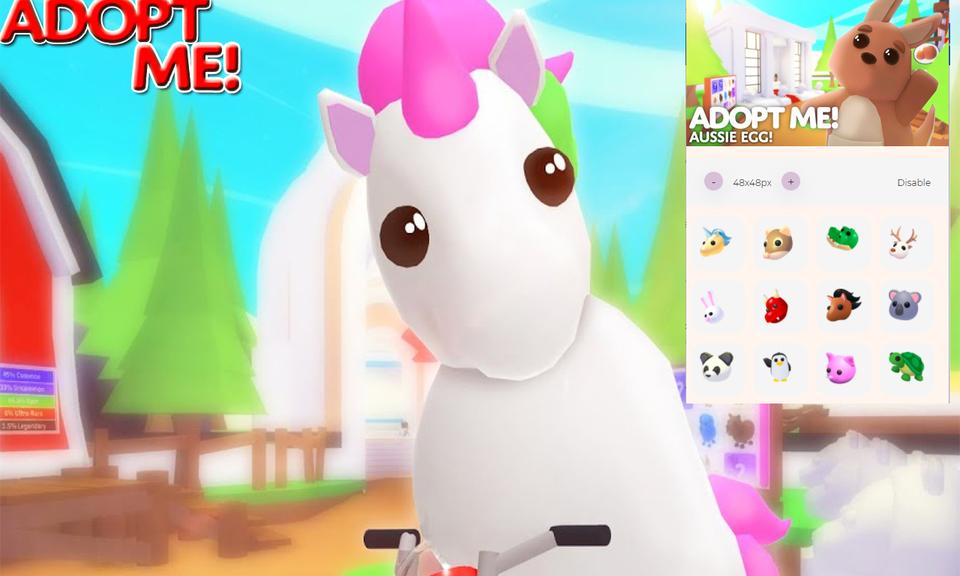 Custom  Roblox ADOPT ME cursor