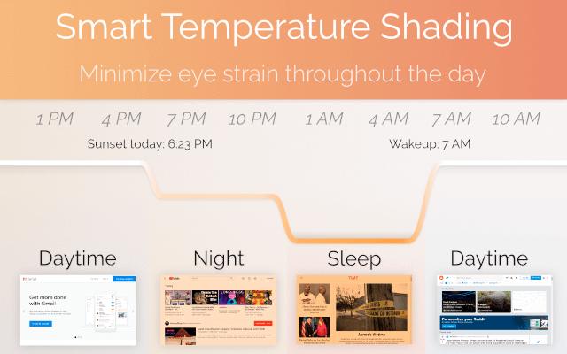 Screen Shader  防蓝光变色护眼插件