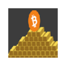 Bitcoin > Gold (Text Replacement)