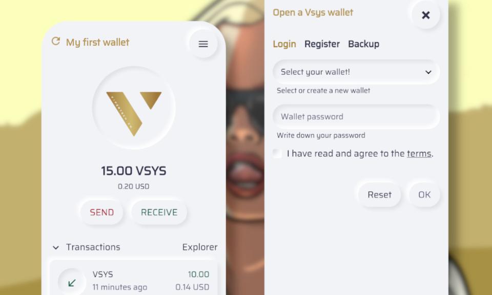 VSYS Gold Wallet