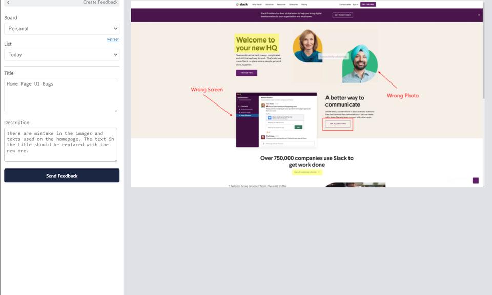 Toolbax - Trello Integrated Visual Feedback