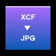 XCF to JPG Converter 插件