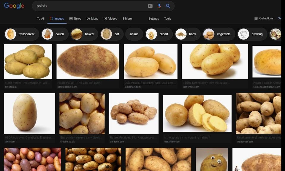 Dark Theme for Google Image Search