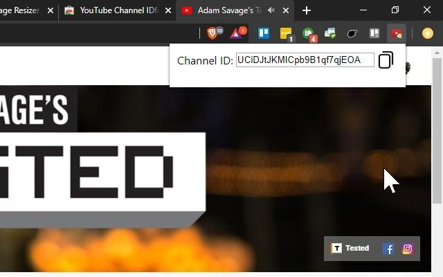 YouTube Channel IDfier