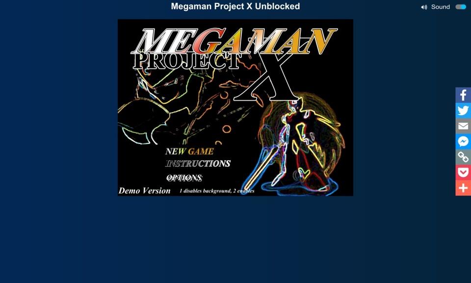 Megaman Project X Unblocked