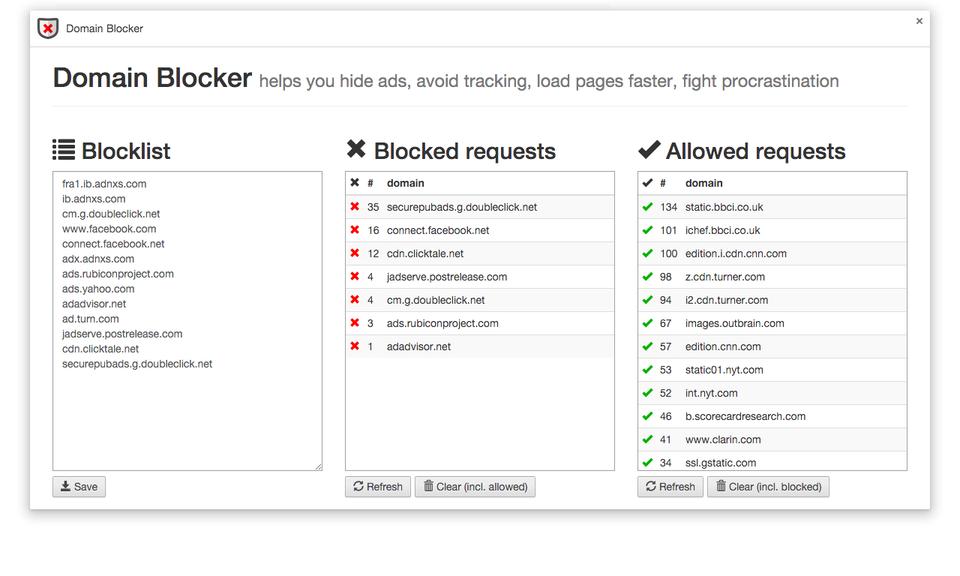 Domain Blocker