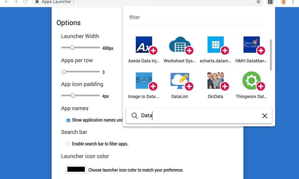 Simple Apps Launcher