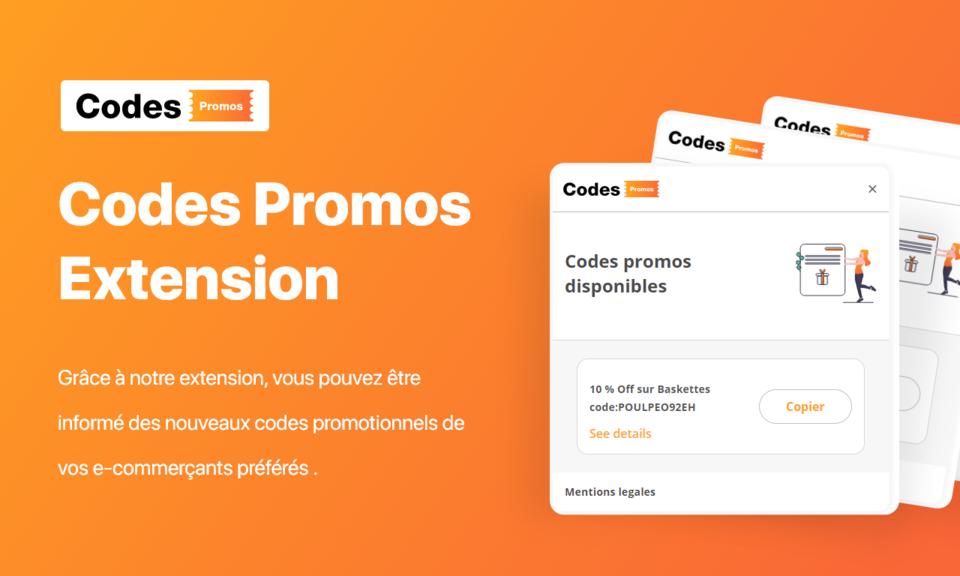 CodesPromos extension