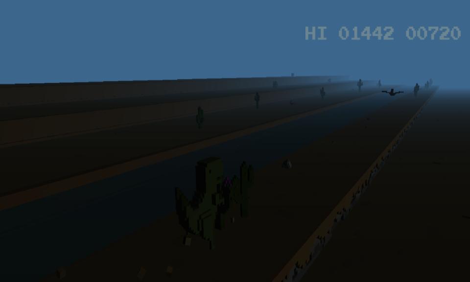 3d Running Dinosaur