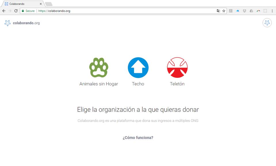 Colaborando.org - Donate by surfing the web