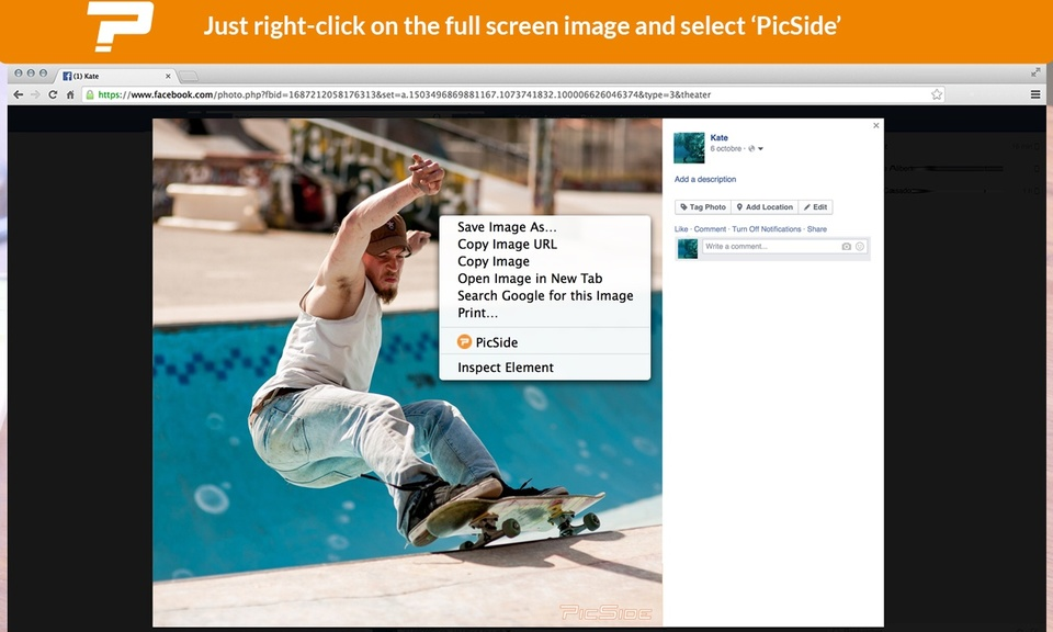PicSide smart and social photo