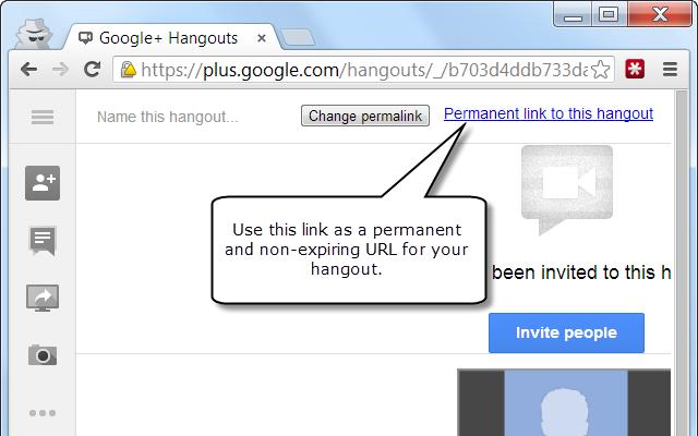 Google Hangout Keep Online