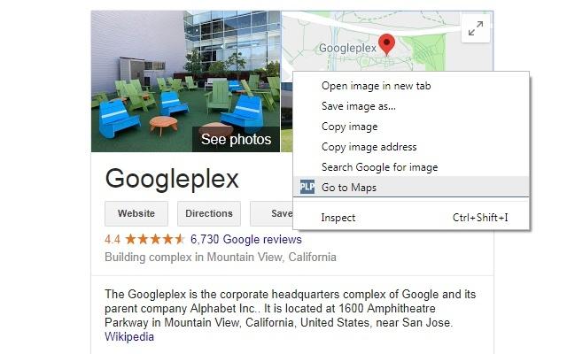 PlePer Tools - Open Google Maps from SERP KG