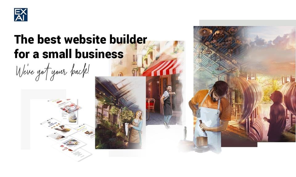 EXAI-Best Website Builder for Small Business