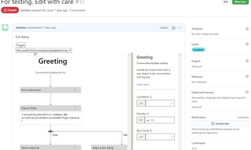 Adaptive Dialog Visualizer