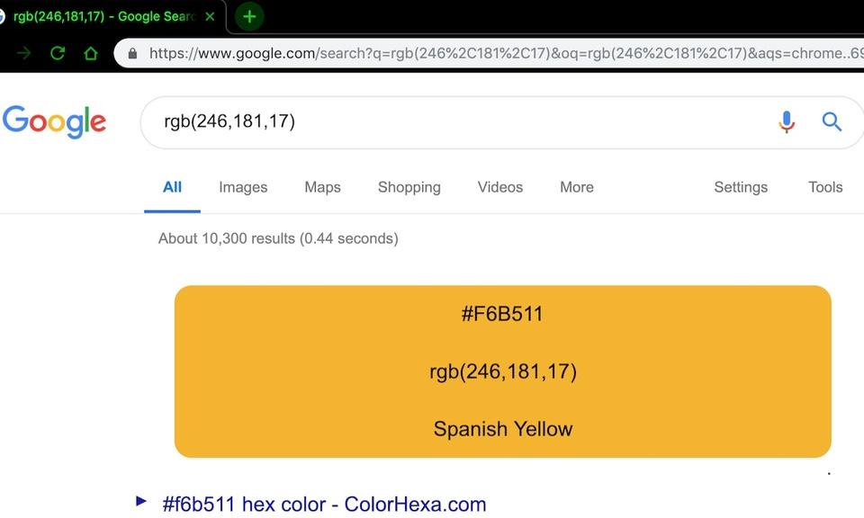 Color Search
