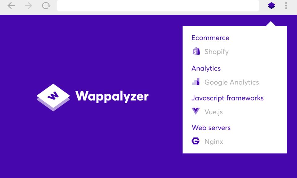 Wappalyzer-网站技术分析工具