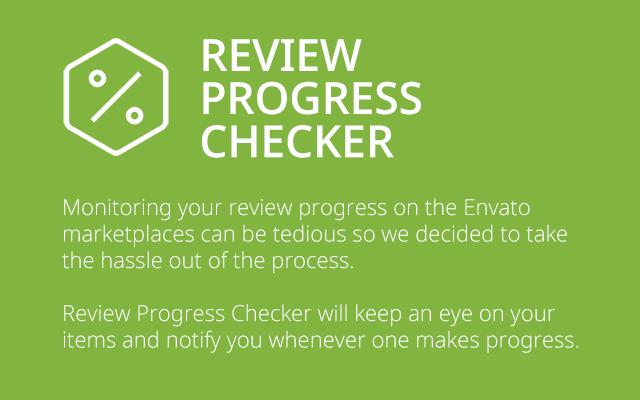 Review Progress Checker