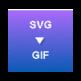 SVG to GIF Converter 插件