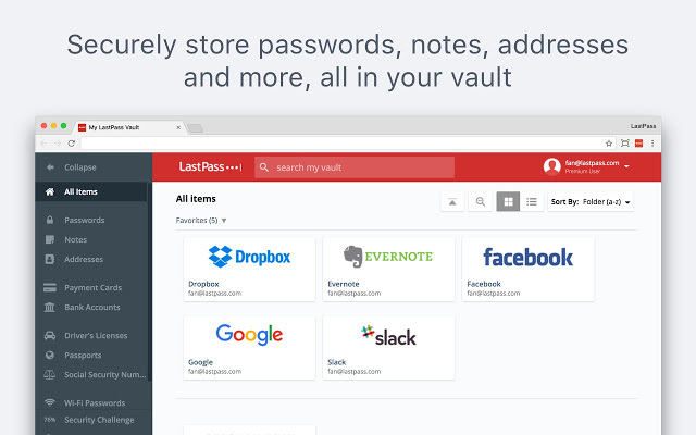 LastPass: Free Password Manager-免费密码管理器