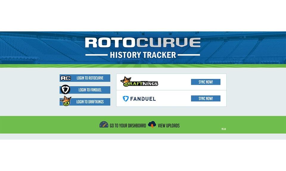 RotoCurve History Tracker