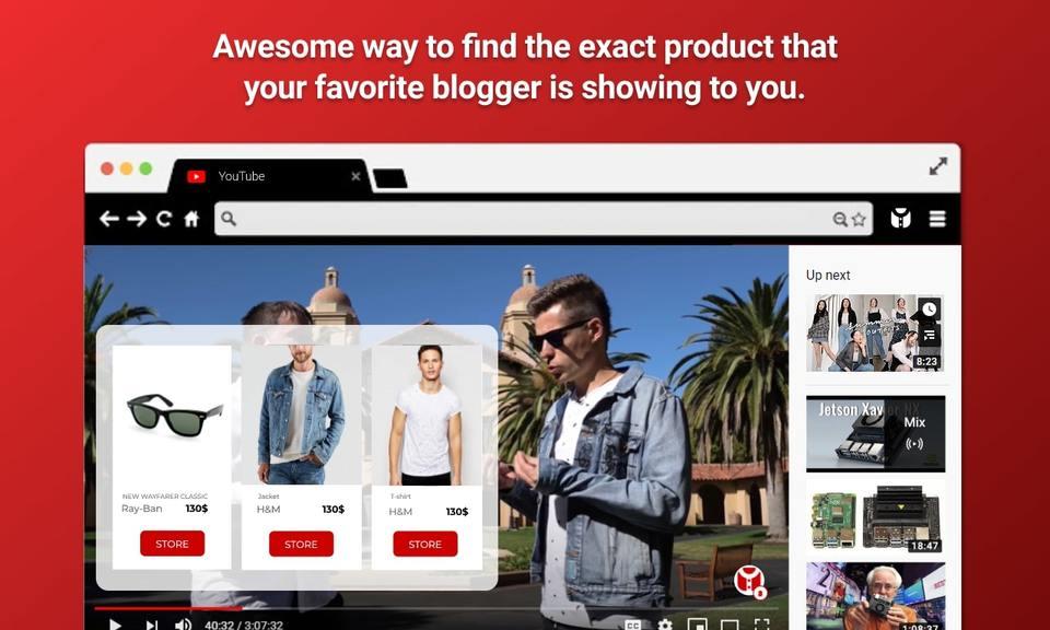 Oyper - Shoppable video