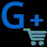 Кнопка «Поиск по товарам» на странице Google™