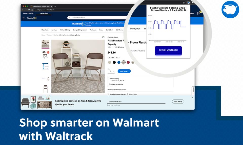 Waltrack | Walmart Price Tracker
