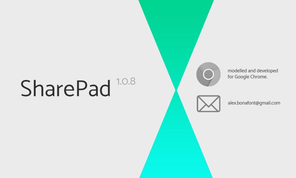 SharePad - A Simple Notepad