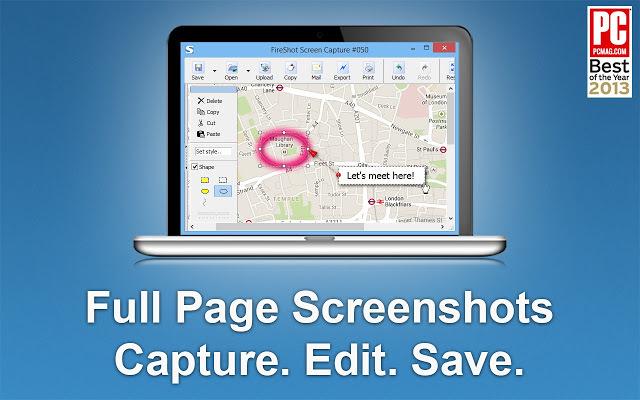 ScreenShoter: Full page screen capture