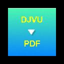 DJVU to PDF Converter - LOGO