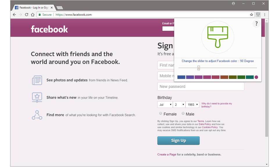 Color Changer for Facebook™