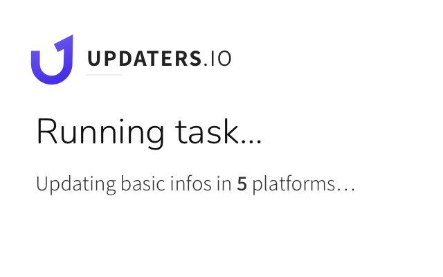 Updaters.io