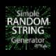 A Random String & Password Generator