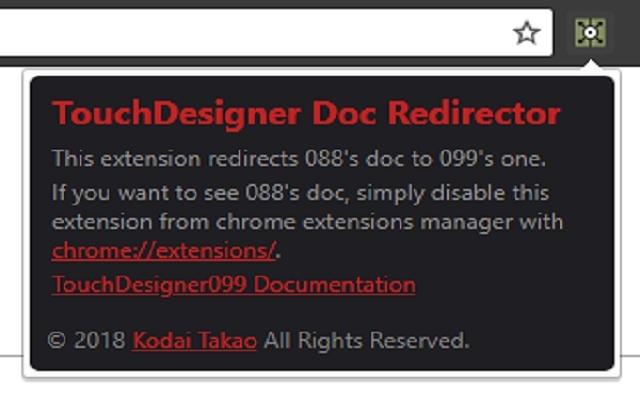 TouchDesigner Doc Redirector