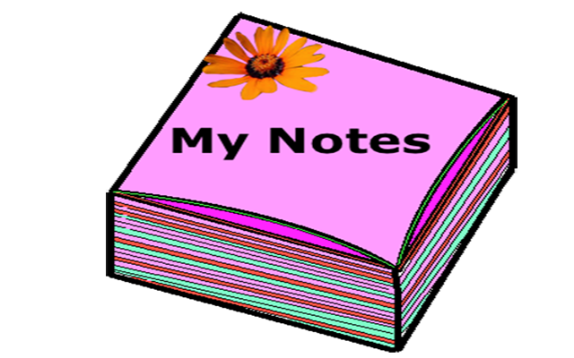 My Notes
