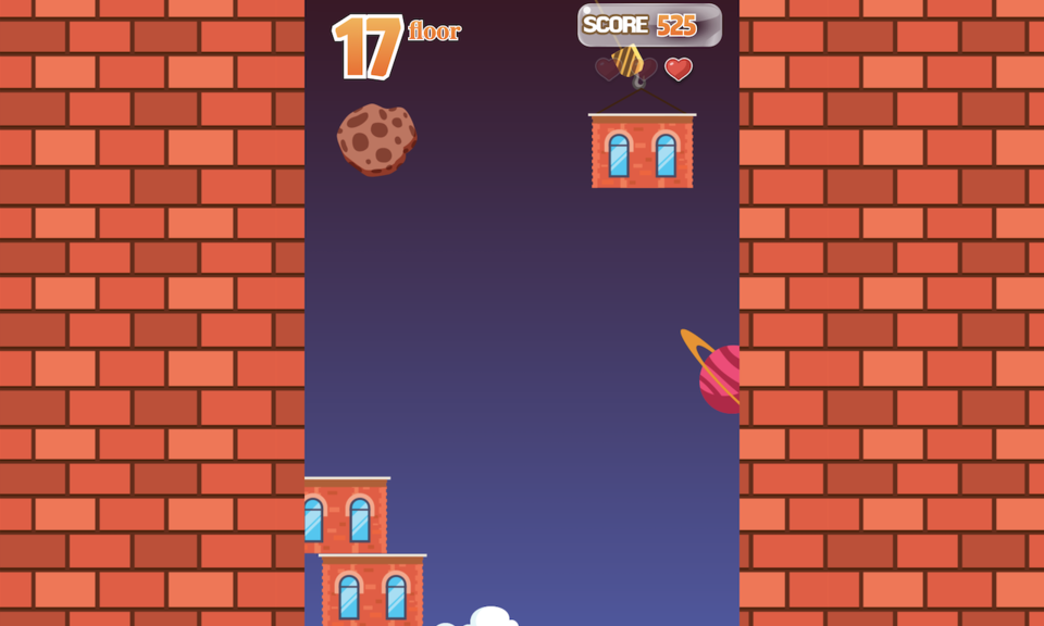Tower Building Popup Game