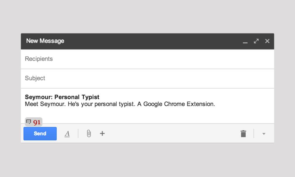 Seymour: Personal Typist