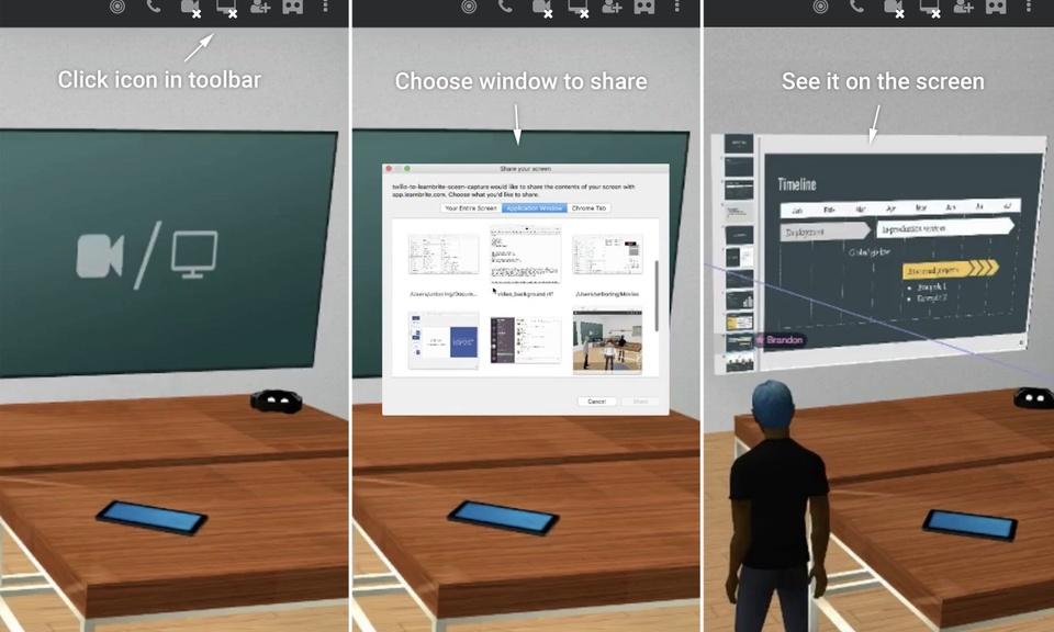 LearnBrite Screen Sharing