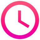 Colorful Clock for Google Chrome 插件