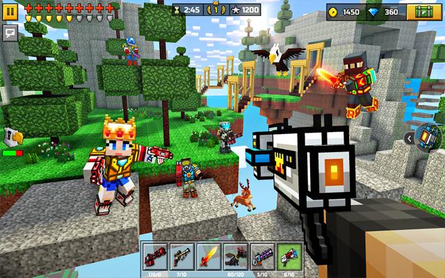 Pixel Gun 3D Battle Royale Game