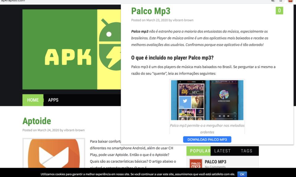 Palco mp3 by ApkRapido