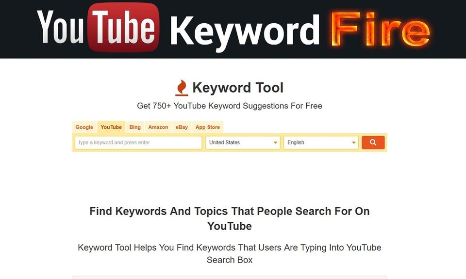 Youtube Keyword Fire