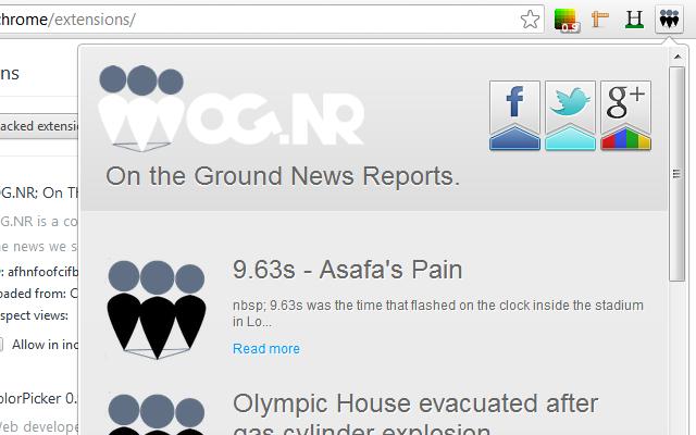 OG.NR; On The Ground News Reports