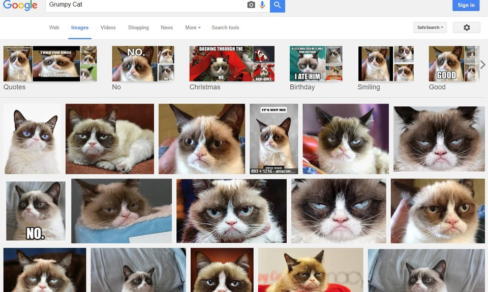 Quick Image Search