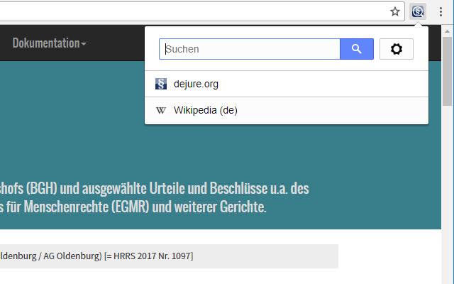 dejure.org Multi-Search