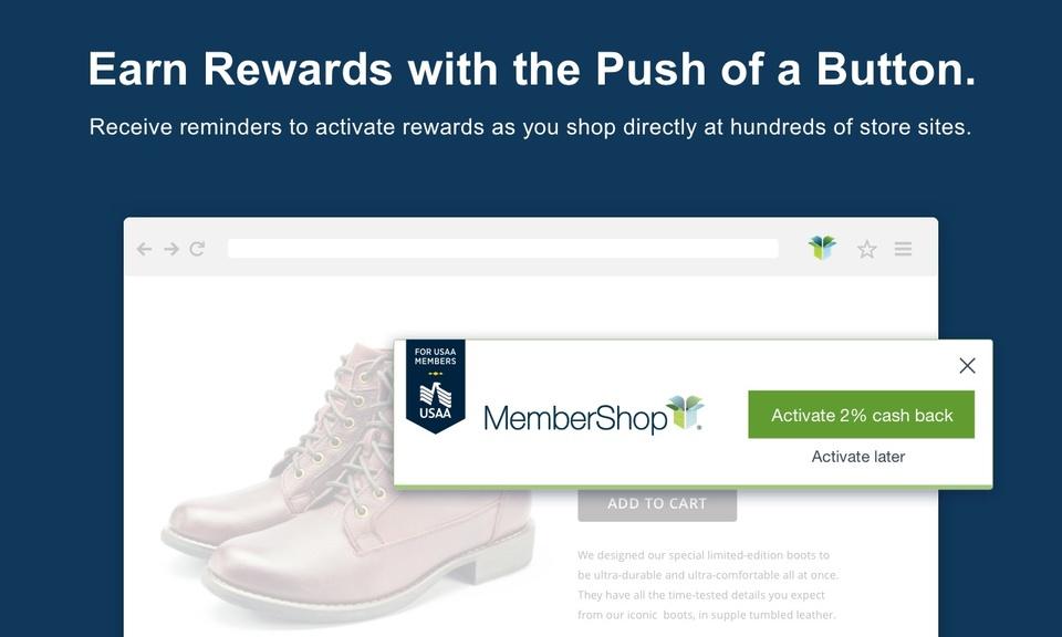 MemberShop® button