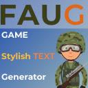 FAUG Stylish Text Generator 插件