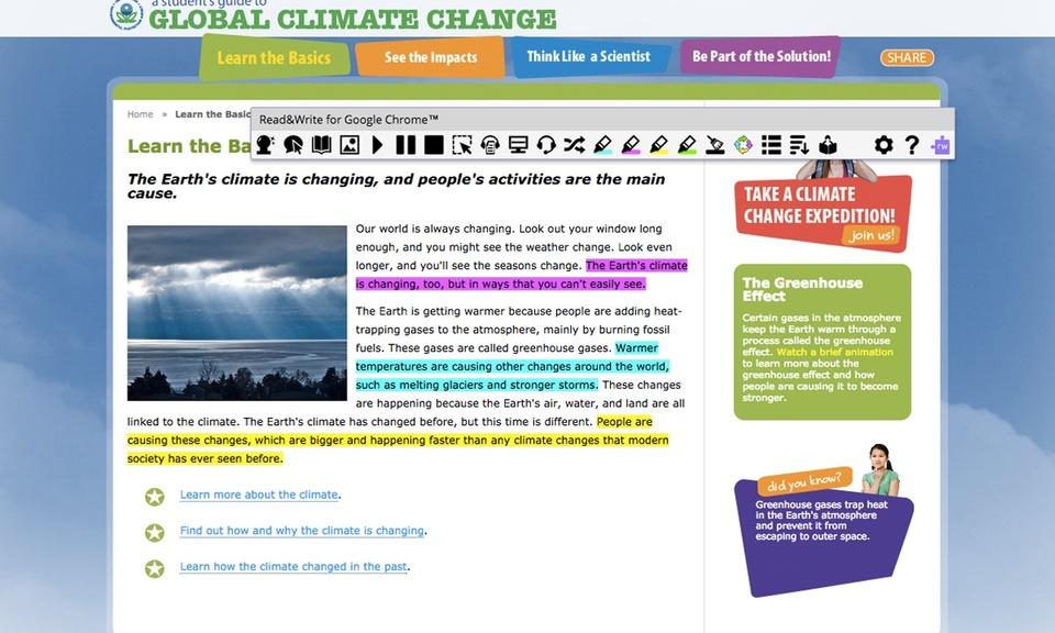 Read&Write for Google Chrome™-谷歌浏览器读写插件